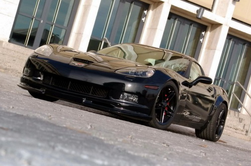 Geiger Corvette Z06 Black Edition (5 фото)