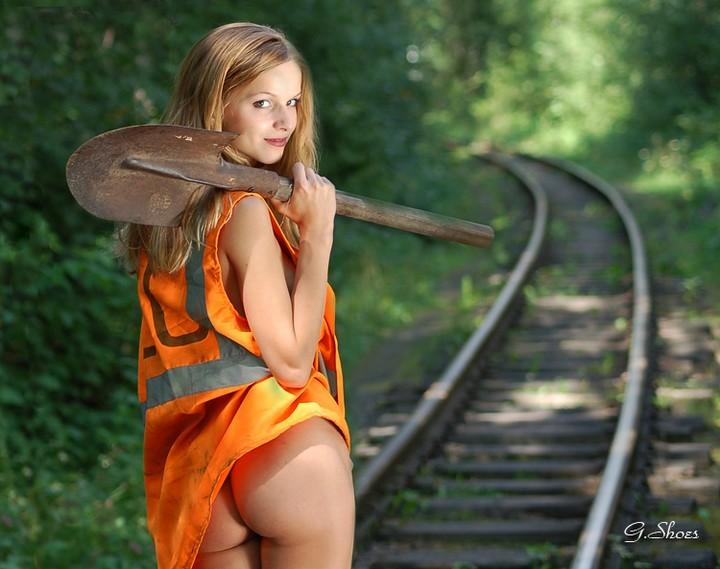 эротическое фото девушек железнодорожниц-са1