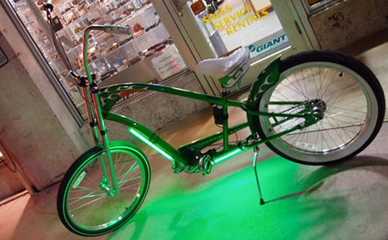 Тюнинговать велосипед своими руками