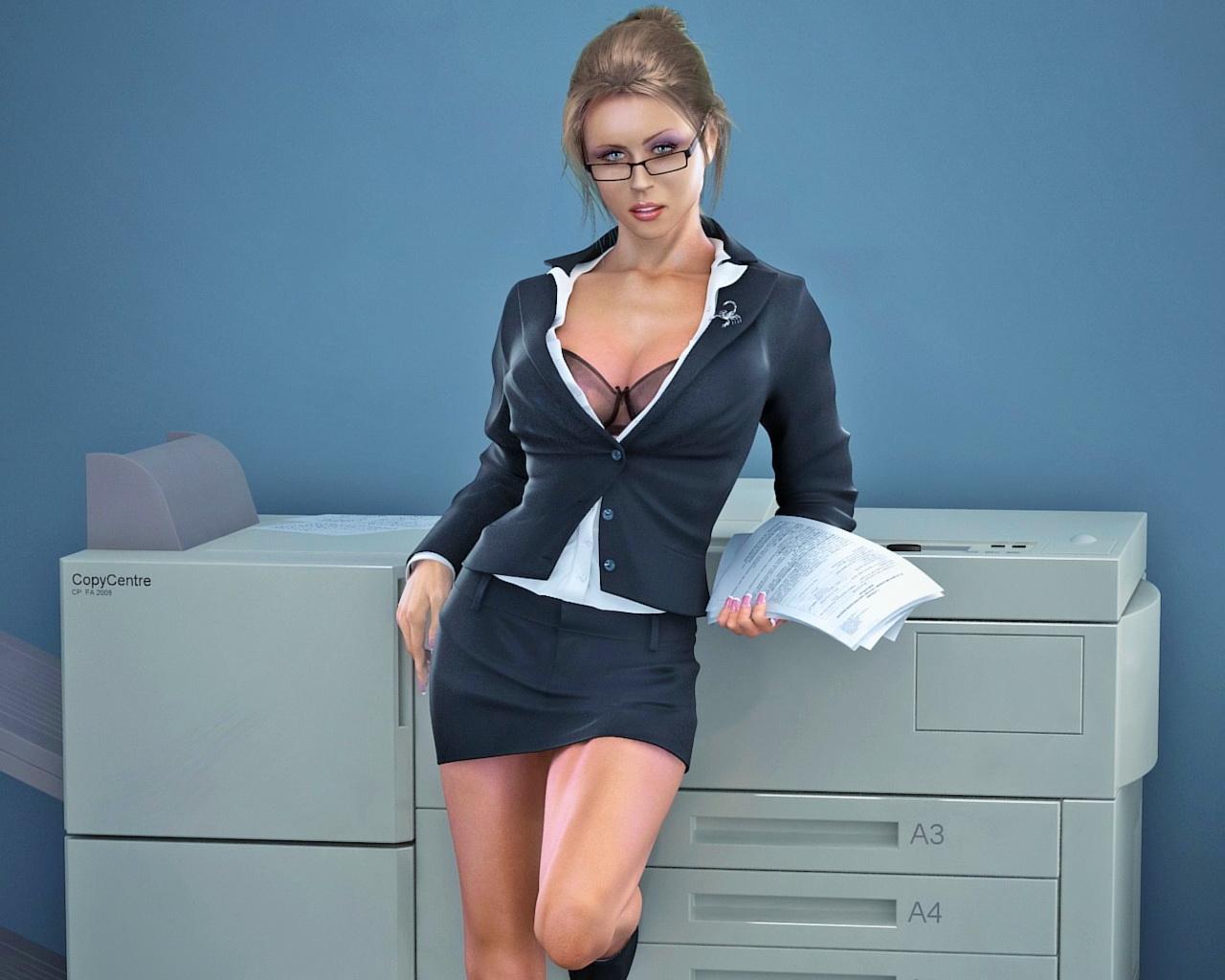 Секретарша на рабочий стол 18 фотография