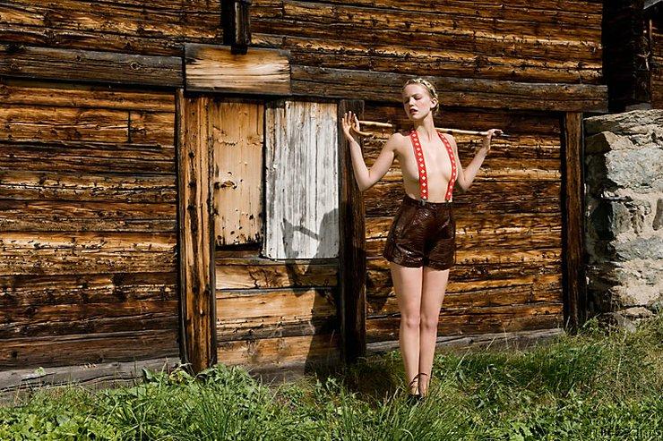 Деревенские девки фото