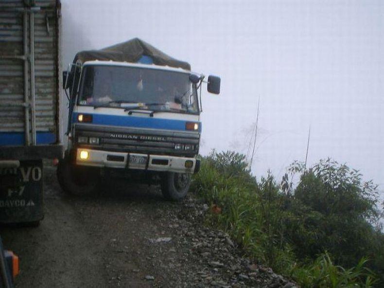 Опасная дорога в Боливии (40 фото)