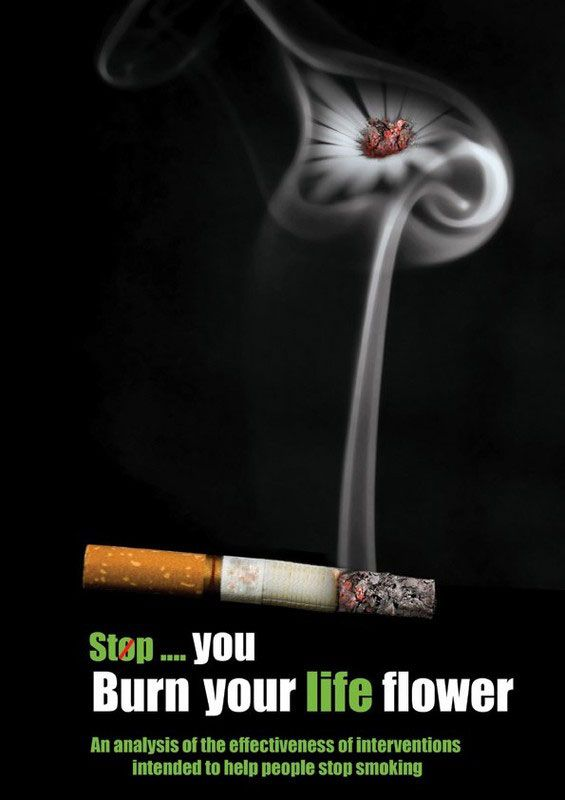 an analysis of the anti smoking commercials for several similar ads 50 most creative anti-smoking advertisements many anti-smoking ads in the past are rather gruesome with rotten body parts that terrified people.