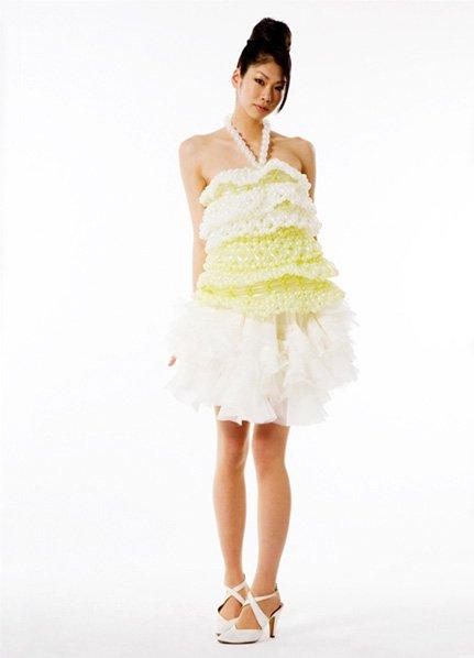Платья из шариков