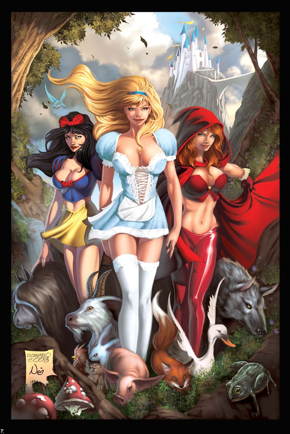 Fairies and elves xxx toons hentia picture