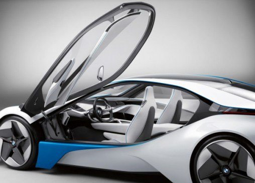 Новый концепт BMW Vision EfficientDynamics