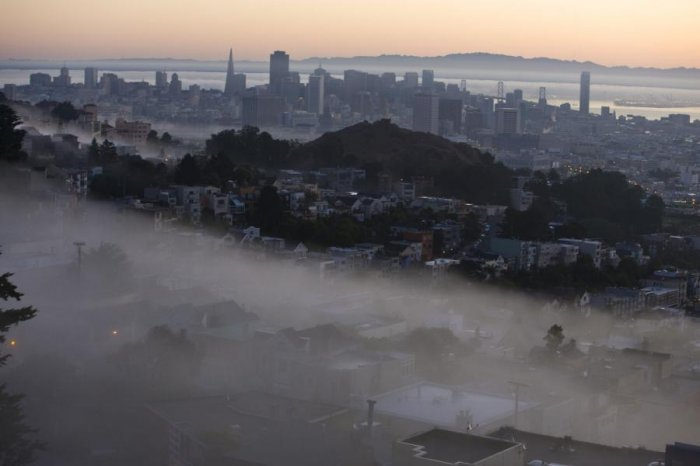 Странный туман над Сан-Франциско