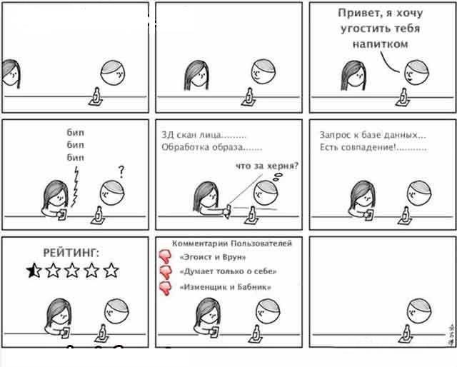 про интернет знакомства юмор