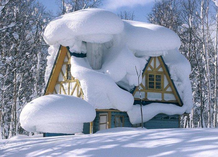 Зимние пейзажи 29 фото