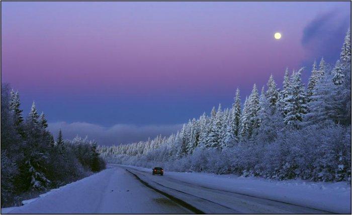 Зимние пейзажи (29 фото)