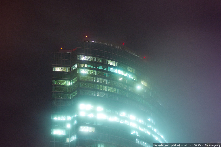 Москва в тумане