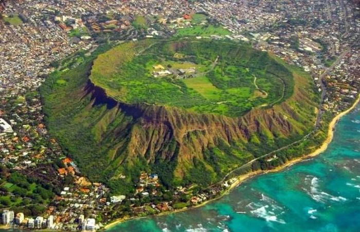 Кратор Diamond Head (8 фото)