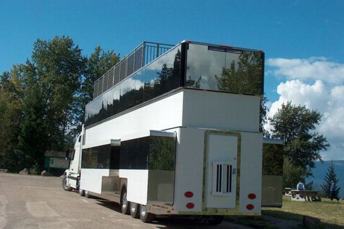 Дом на колесах в фото