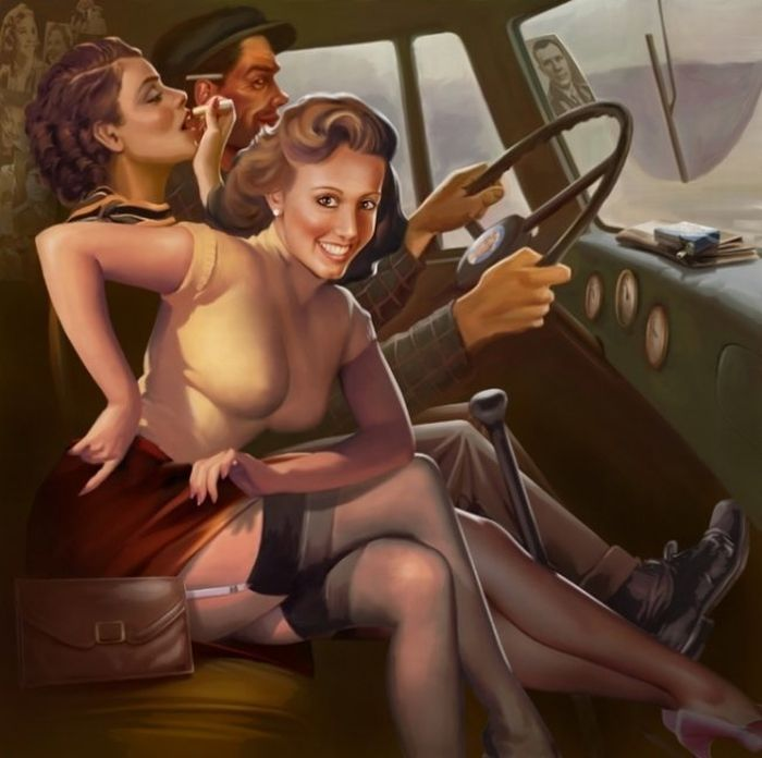 Сексуальнык девушки с постеров видеоигр