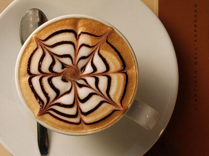 Не только вкусный, но и красивый кофе