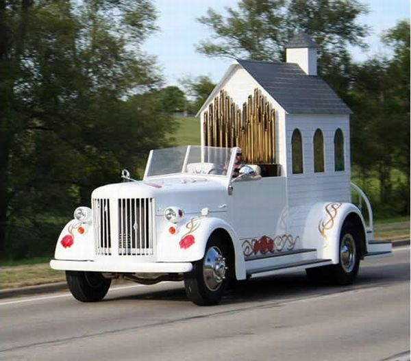 Церковь на колесах