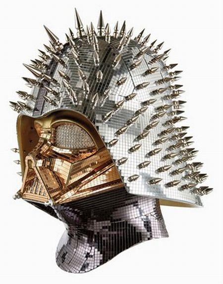 Креативные шлемы Дарта Вайдера