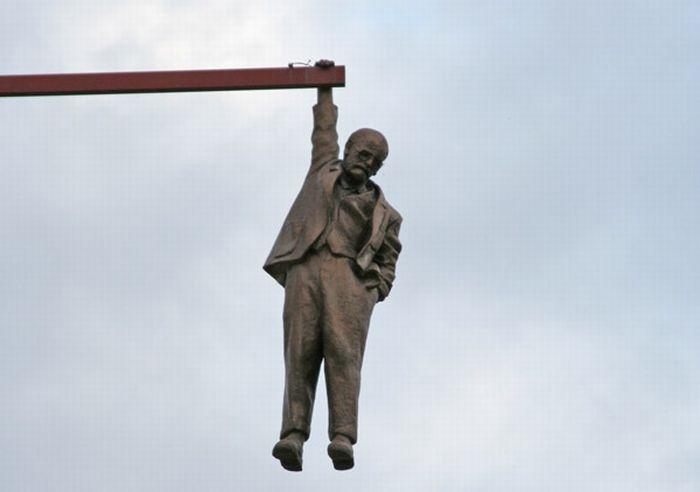Необычные скульптуры Давида Черного