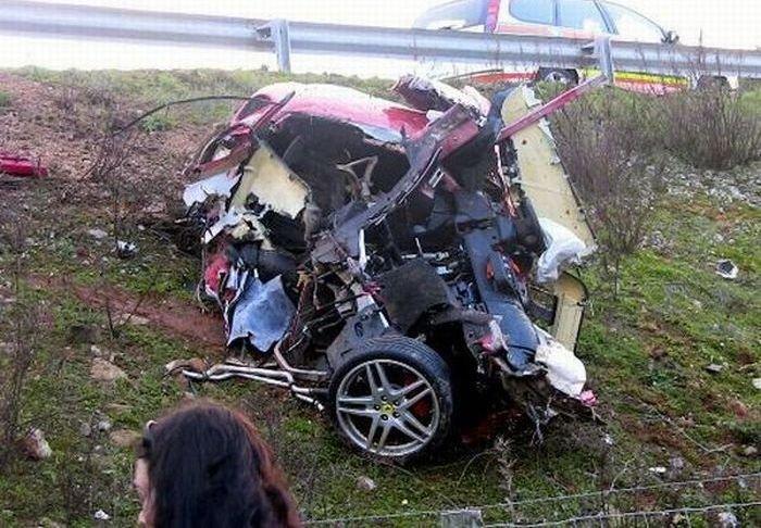 В этих авариях никто не пострадал...