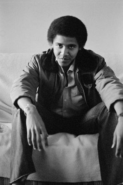 Редкие фото молодого Барака Обамы