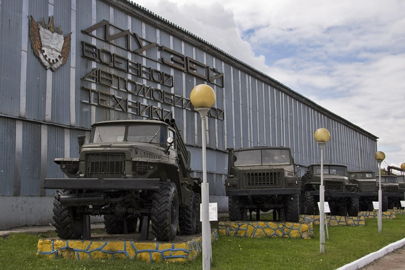 Музей военной техники в Рязани