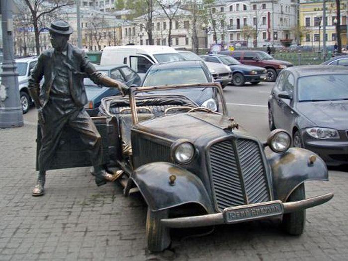 Некоторые памятники России и ближнего зарубежья