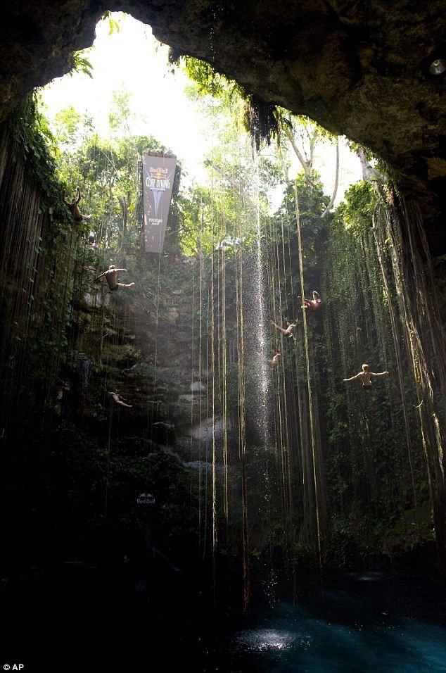 Прыжки в воду с высоты 27 метров