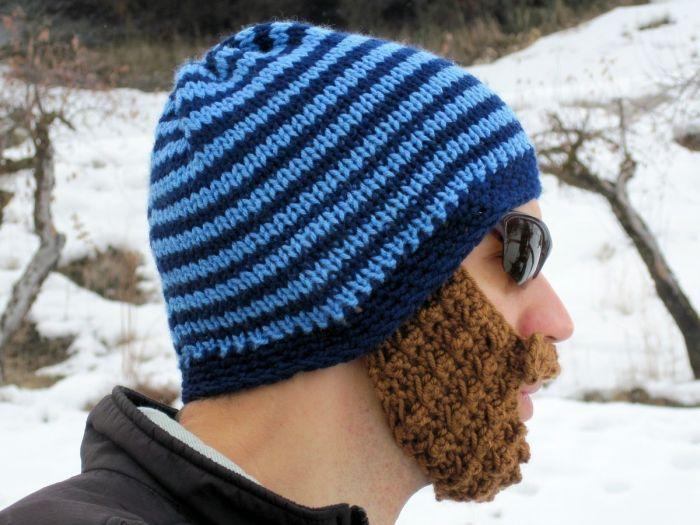 Бородатые шапки.
