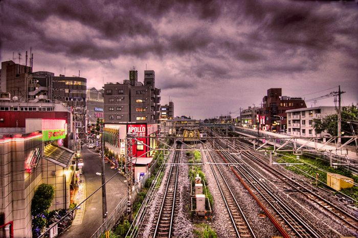 Токио в HDR