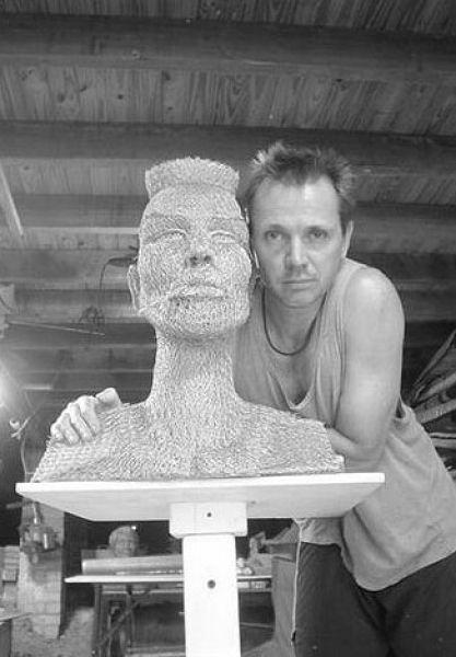 Скульптуры из проволоки от Ивана Ловатта