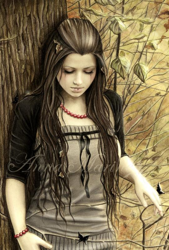 Красивые рисунки Анны Марин