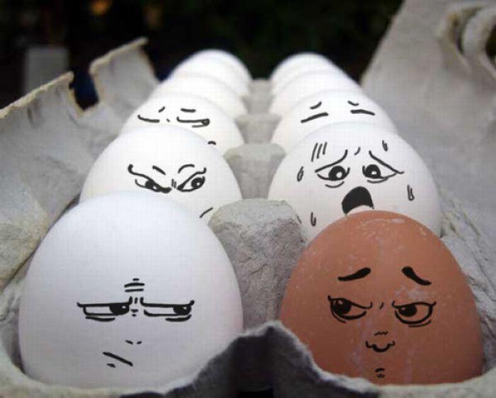 Смешные картинки из яиц, улыбки приколы лет