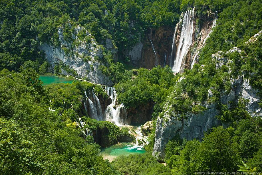 Плитвитские озера в Хорватии