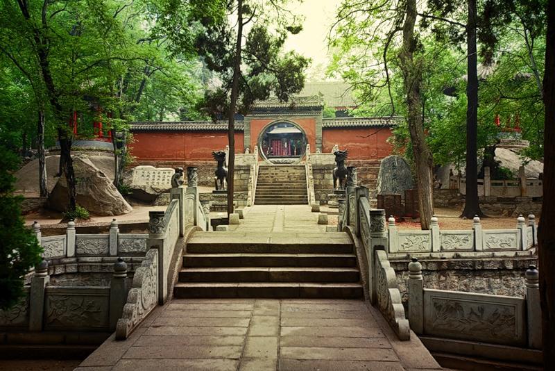 Гора Хуашань в Китае (16 фото)