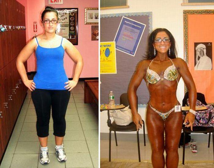 Успех людей которые похудели