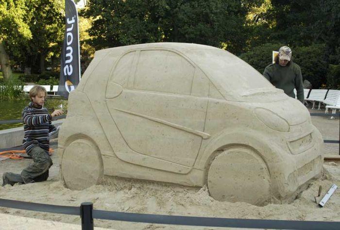 Smart из песка