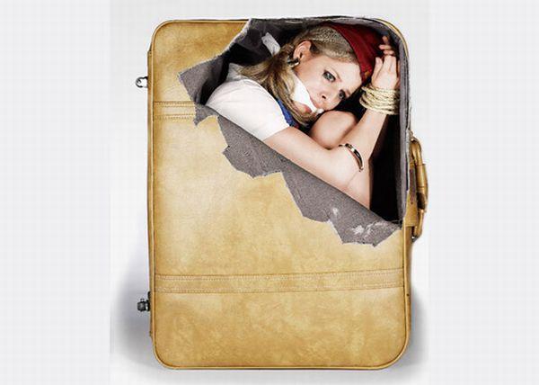 Наклейки на чемоданы