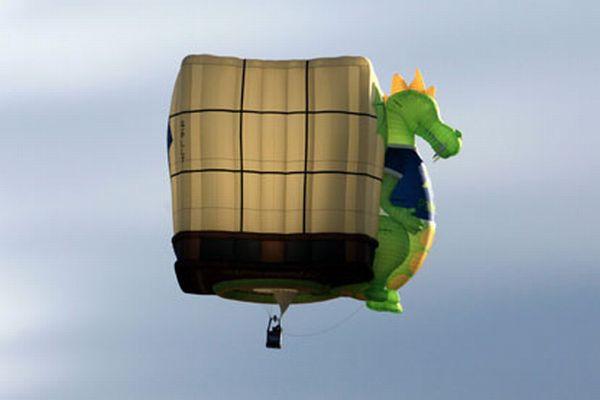 Небычный воздушный шар