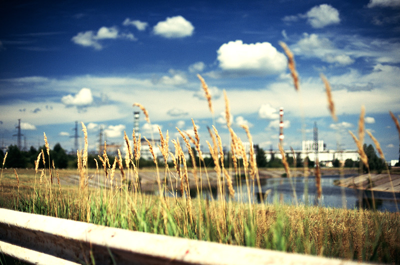 Поездка к Чернобыльской АЭС (12 фото)