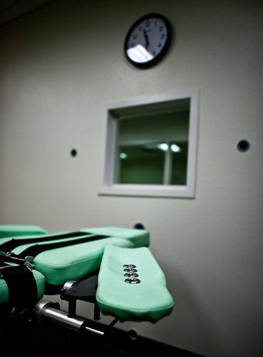 Камера для смертельных инъекций