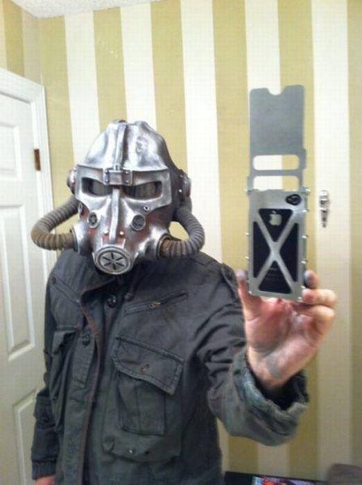 """Шлем из игры Fallout 3 своими руками """" Прикольные картинки, фото приколы, видео приколы, креативные фото, юмор, обои для рабочег"""