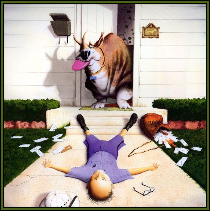 Смешные рисунки с собаками