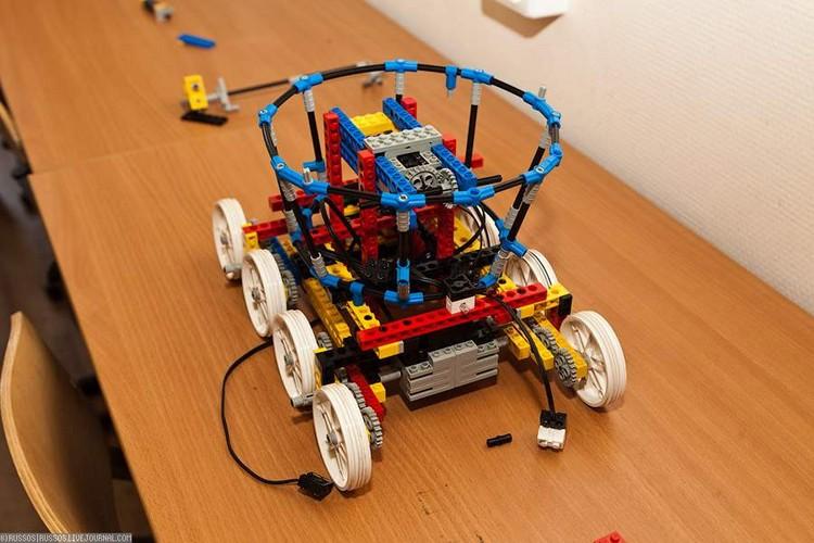 Лего роботы видео своими руками