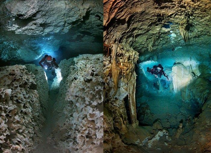 Мексиканские подводные пещеры от Анатолия Белощина