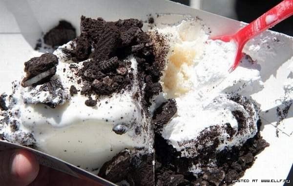Самый большой торт-мороженое в мире