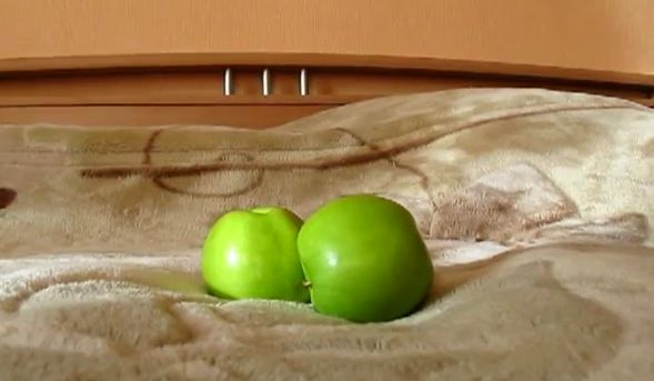 прикольные картинки яблок: