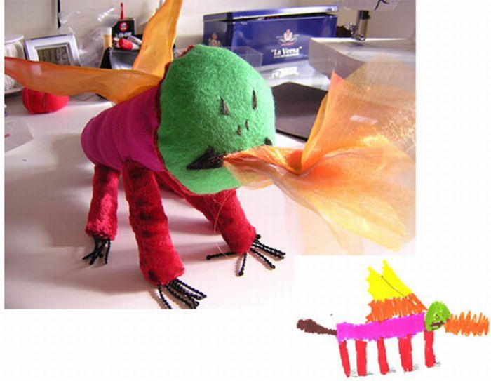 Как сделать так что бы игрушки ожили 100