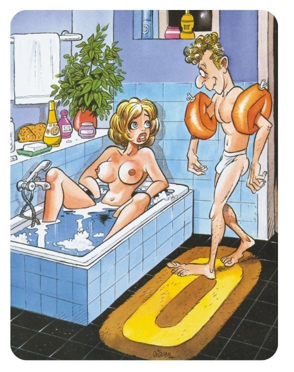комиксы голышом