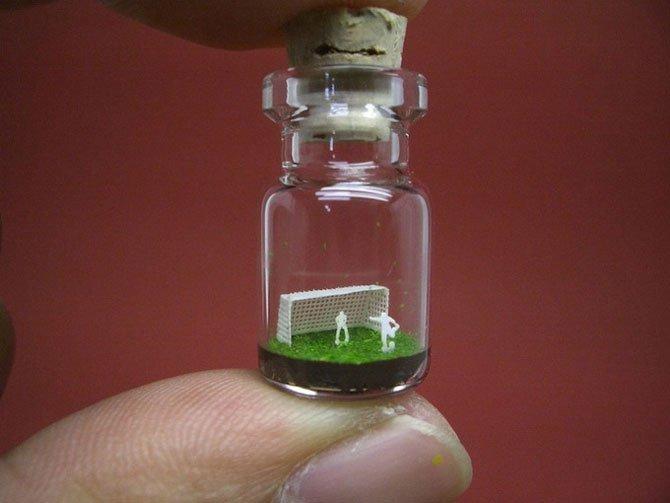 Маленький мир в бутылке от архитектора Акинобу