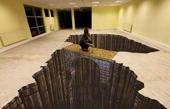 Большие 3D рисунки